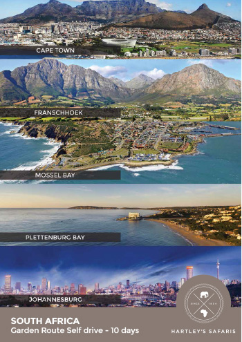 South Africa - Garden Route 10 Days